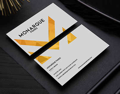 Monarque Funds Business Cards