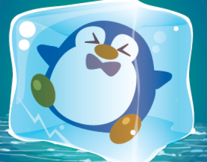 Penguin Patrol Assets and Logo Design
