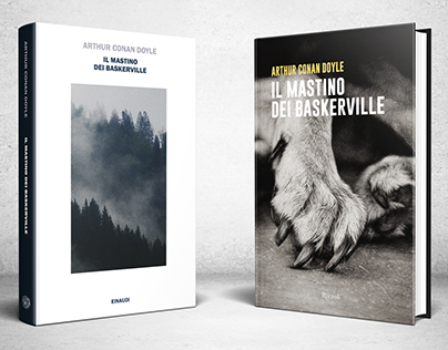 The Hound of the Baskervilles - 2 book covers