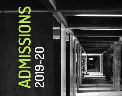 Admissions 2019-20