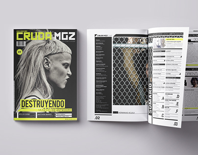 CRUDA MGZ Magazine