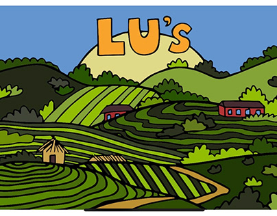 Lu's Sandwiches giftcard design