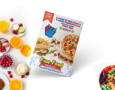 Fast Food Artwork Menu