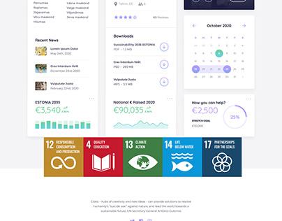 SDG EDUTECH, UI Dashboard Design