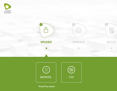Etisalat Invoice Claim Portal