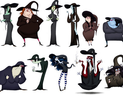 WITCHES SKETCHES