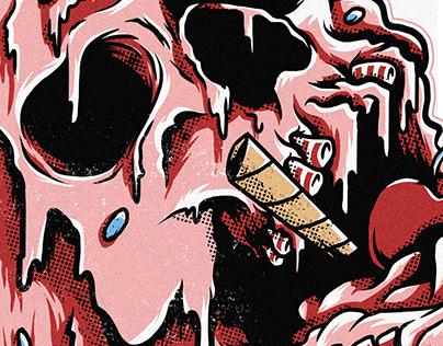 Ice Skull Cream [Blunt - Verão 2021]