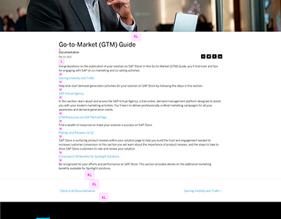 Go to market Guide