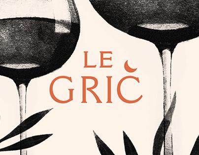 Le Grič — Visual identity