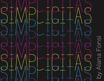 Simplicitas Typeface