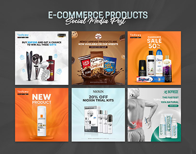 Ecommerce Products Social Media Post