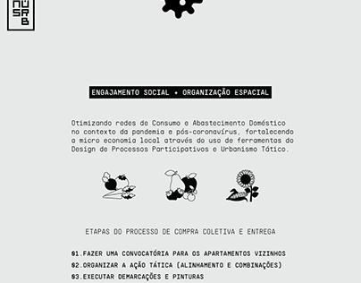 Engajamento Social + Organização Espacial