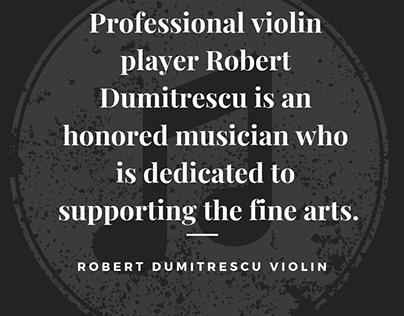 Robert Dumitrescu Violin