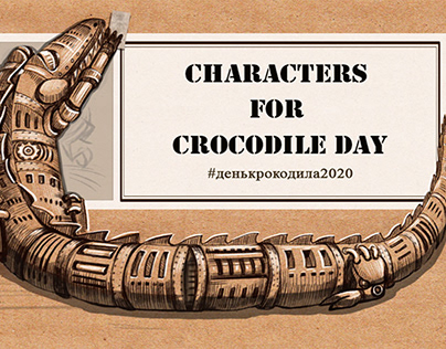 Characters for Crocodile Day