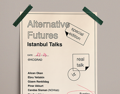 Alternative Futures Poster