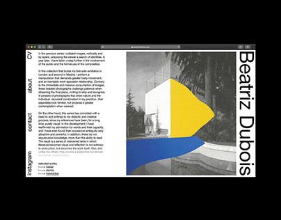 Beatriz Dubois – website
