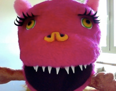 """""""Me-Monsters"""" Hand Puppets 2010"""