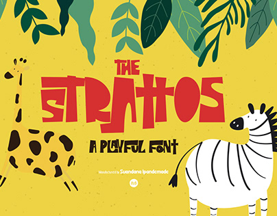 The Strattos - A Playful Font