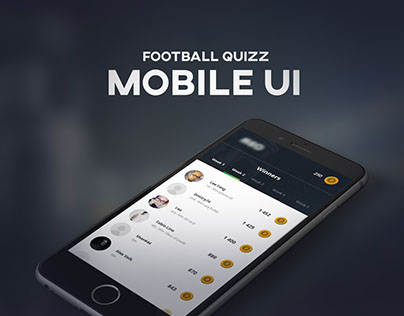 Football Quizz Mobile Ui