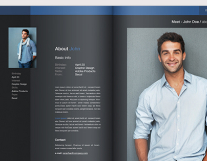A4 Portfolio & Showcase Brochure