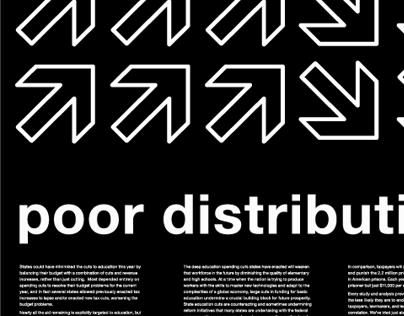 Poor distribution poster