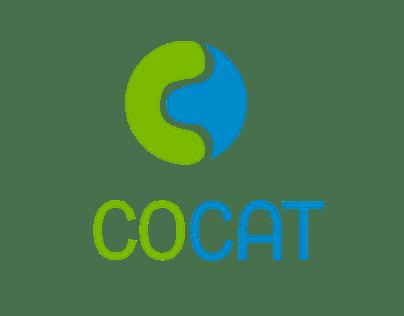 Cocat Branding, Website, Leaflets