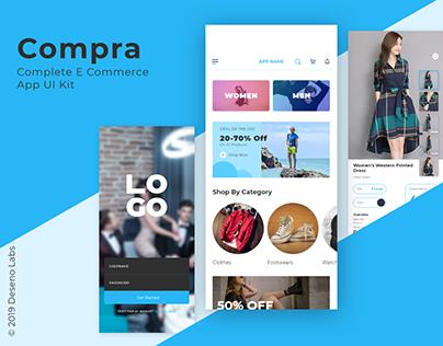 Compra - E Commerce UI Kit