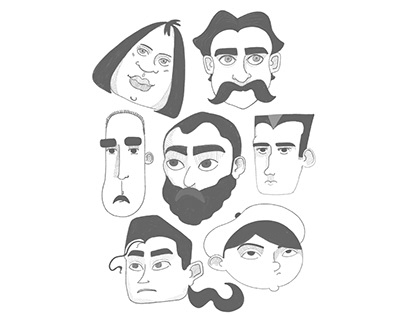 Character Sketch Series