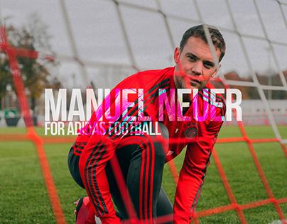 Manuel Neuer for Adidas Football