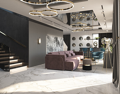 Luxury Duplex Interior, Gulshan, Dhaka