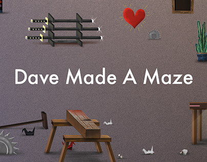 Dave Made A Maze opening sequence