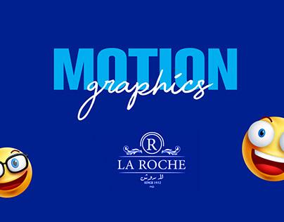 La Roche Pastry Motion Graphics 2019