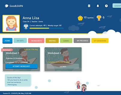 Web application Design : E-learning