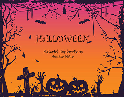Material Developments - Inspired by Halloween