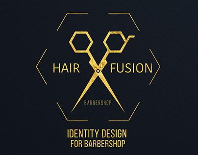 Logo & Business cards design for barbershop.