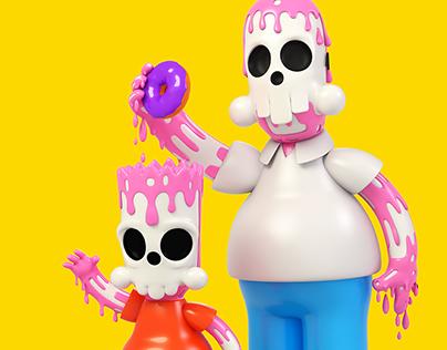 Springfield Skulltoons