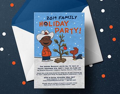 2019 Denver Broncos Family Holiday Party