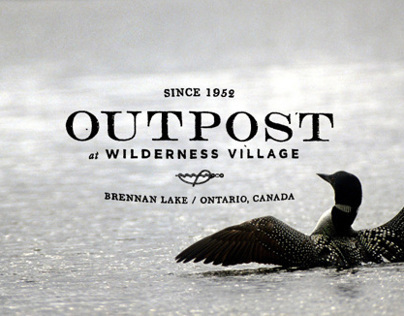 Outpost Logo and Web Design