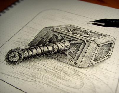 Hammer icon - Creating process