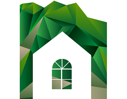 Concrete real estate Logo