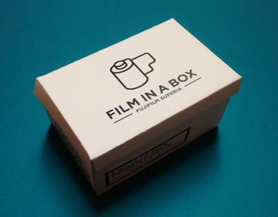 Film in a Box - Fujifilm Superia - Package Design