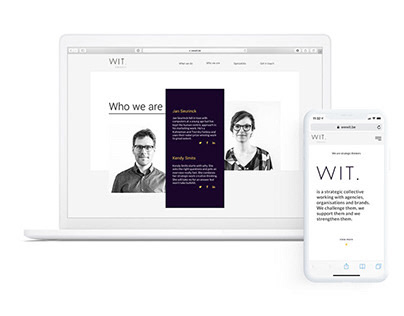 WIT | Website redesign | Consulting