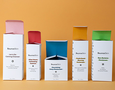 Bounce Skin - Branding and Packaging