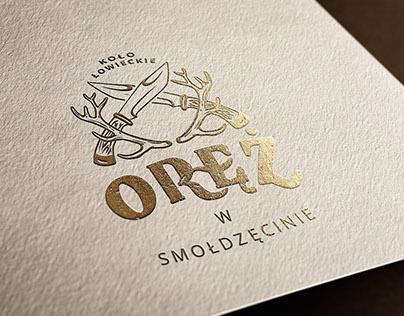 Oręż - Koło Łowieckie - logo & website
