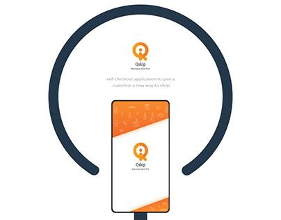 Qskip - Self Checkout Application UI/UX