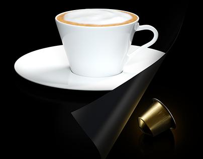 Nespresso Ad - 3D exercise