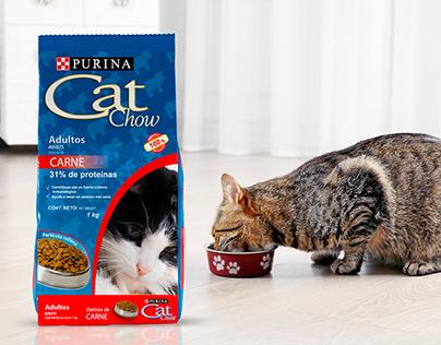 Packaging Cat Chow - Evolución de diseño
