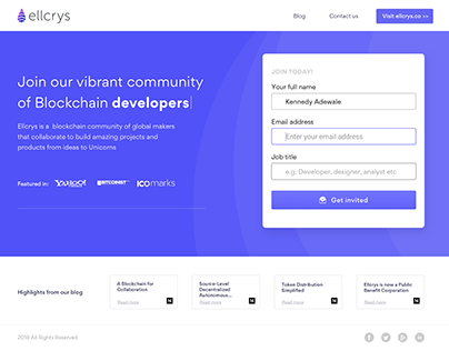 Ellcrys Community
