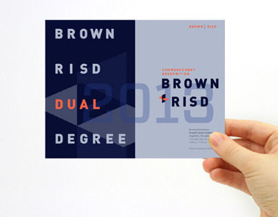 Brown + RISD Dual Degree Commencement Materials