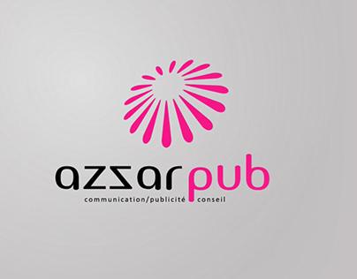 AZZAR PUB, Logo Animation